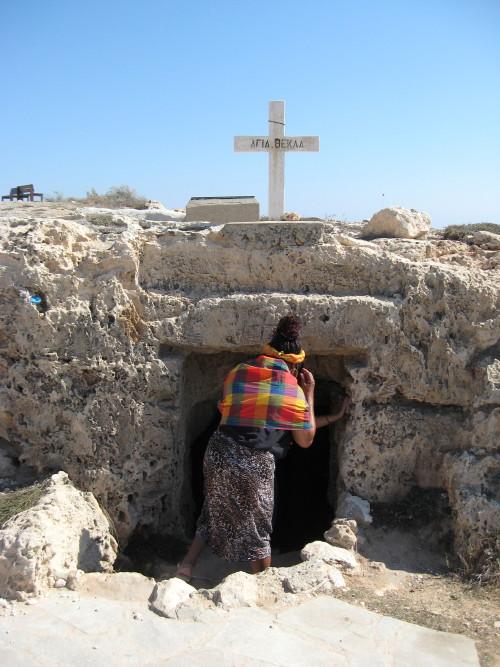 Saint Thecla cave